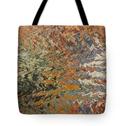 Forces Of Nature - Abstract Art Tote Bag