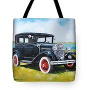 Ford A Tudor Sedan Tote Bag