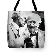Ford And Edison, C1930 Tote Bag