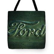 Ford Emblem -0113c Tote Bag
