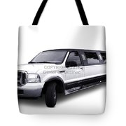 Ford Excursion Stretched Limousine Tote Bag