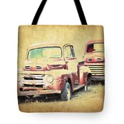 Ford F1 Tote Bag