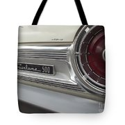Ford Fairlane 500 Emblem Tote Bag
