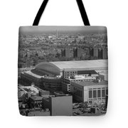 Ford Field Bw Tote Bag