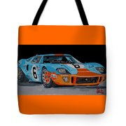 Ford Gt40 Tote Bag