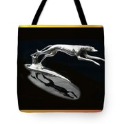 Ford Lincoln Greyhound Mascot Tote Bag