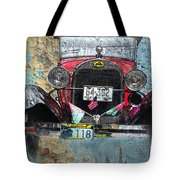 Ford Model A 1928 Oldtimer Tote Bag