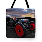 Ford Model T Racer Beat The Storm Home Tote Bag
