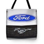 Ford Mustang Emblem Tote Bag