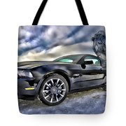 Ford Mustang - Featured In Vehicle Eenthusiast Group Tote Bag
