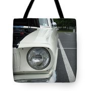 Ford Mustang Gt 350 Looking Back Tote Bag