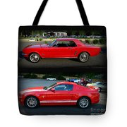 Ford Mustang Old Or New Tote Bag