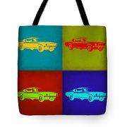 Ford Mustang Pop Art 1 Tote Bag