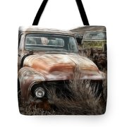 Ford Old Pickup Tote Bag