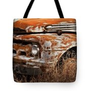 Ford Old School Bus Tote Bag