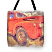 Ford Panel Truck Tote Bag