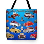 Another Ford Poster Tote Bag