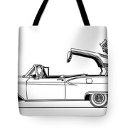 Retractable Ford Top Going Down Tote Bag