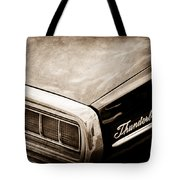 Ford Thunderbird Taillight Emblem Tote Bag