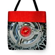 Ford Thunderbird Wheel Emblem Tote Bag