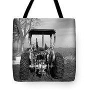 Ford Tractor Rear View Tote Bag