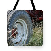 Ford Tractor Tire Tote Bag