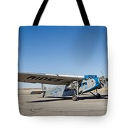 Ford Tri-motor Taxiing Tote Bag