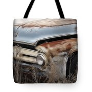 Ford Truck Old F350 Tote Bag