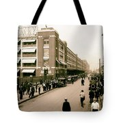 Ford Work Shift Change - Detroit 1916 Tote Bag