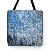Foreground Frost Tote Bag