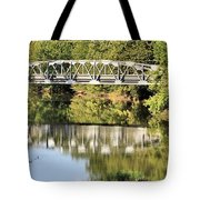 Forest Bridge Tote Bag by Dan Sproul