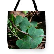 Forest Clover Tote Bag