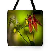 Forest Columbine  Tote Bag