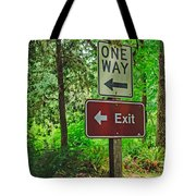 Forest Exit Tote Bag
