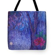 Forest Flower Tote Bag