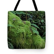Forest Greenery Tote Bag