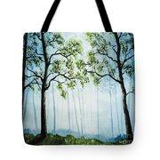 Forest Haze Tote Bag