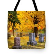 Autumn At Forest Hill Tote Bag