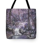 Forest In Lavender Tote Bag