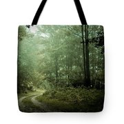 Forest In The Mist Tote Bag