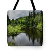Forest Lake - Quebec - Canada Tote Bag