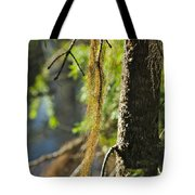 Forest Moss Tote Bag