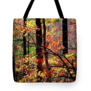Color The Forest Tote Bag