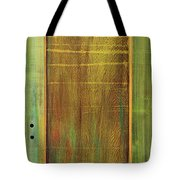 Forest Painted Door Tote Bag