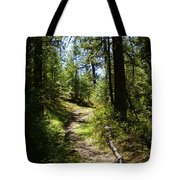 Forest Path In Spokane 2014 Tote Bag
