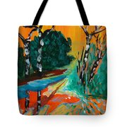 Forest Path Miniature Tote Bag