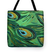 Forest Peacock Tote Bag