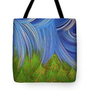 Forest Rain By Jrr Tote Bag
