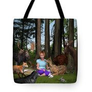Forest Rendezvous Tote Bag
