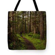 Forest Serenity Path Tote Bag